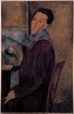 Autoportrait d'Amedeo Modigliani