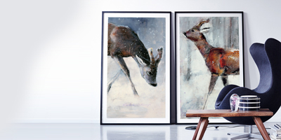 Roe Buck, Winter 