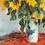 Claude Monet - Bouquet de tournesols