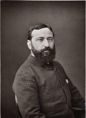Guiseppe de Nittis (1846-84), from ''Galerie Contemporaine'', c.1874-78 (b/w photo)