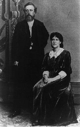 Wilhelm Liebknecht and Eleanor Aveling in America