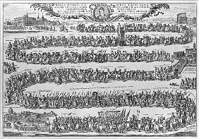 The Procession of Pope Innocent XII from the Vatican on his formally taking possession of St John