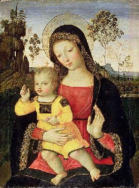 The Virgin and Child, 15th century