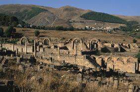 General view of the baths, High Imperial Period (27 BC-395 AD) (photo)
