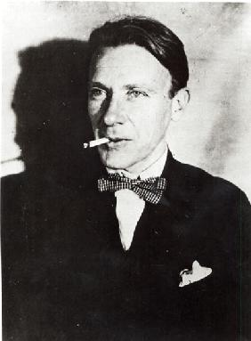 Mikhail Bulgakov at the time of the first production of his play ''The Days of the Turbins'' at the