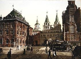 Vintage postcard of Moscow, 1890s