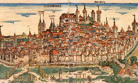 Nuremberg, from: Schedel, World Chronicle