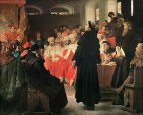 Luther Diet of in Worms , Thumann