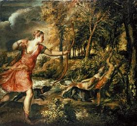 The Death of Actaeon, c.1565