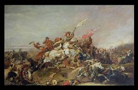 The Battle of Marston Moor in 1644