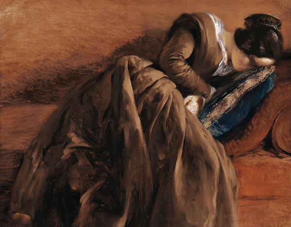 Emilie, the Artist's Sister, Asleep