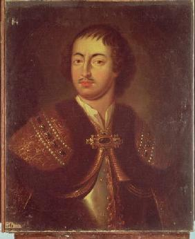 Portrait of Peter I (1672-1725)