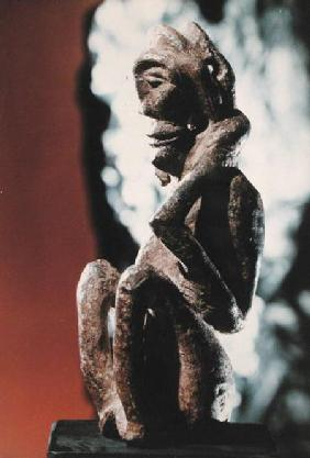 Nomali figure of the Mende tribe or a pondo figure of the Kissi tribe, from Sierra Leone