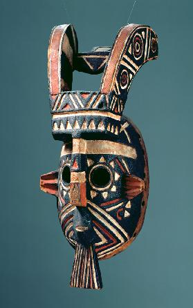 Mask with Horns, Mossi Society, Burkina Faso