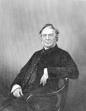 Reverend Hugh Stowell; engraved by D. J. Pound
