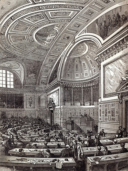 The french chamber of peers from the il after edouard for French chamber
