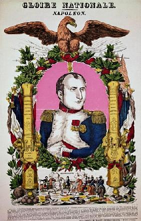 Portrait of Napoleon I (1769-1821) in commemoration of the Battle of Austerlitz, 2nd December 1805;
