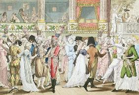 Costume Ball at the Opera, after 1800