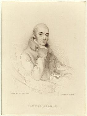 Samuel Rogers; engraved by William Finden