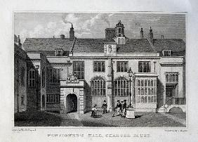 Pensioner''s Hall, Charter House; engraved by John Rogers