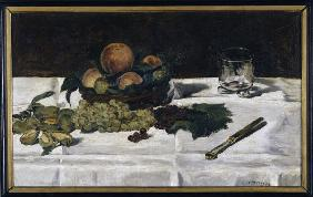 Manet, Edouard : Manet/Nature morte: fruits...