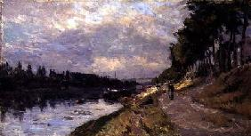 The Seine at Puteaux