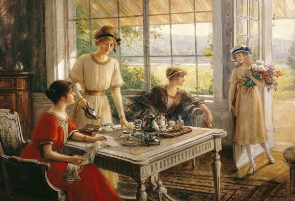 Women Taking Tea