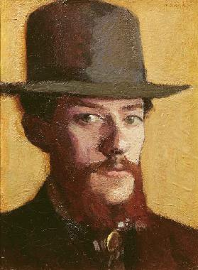 Portrait of Monsieur Mouliet in a Hat