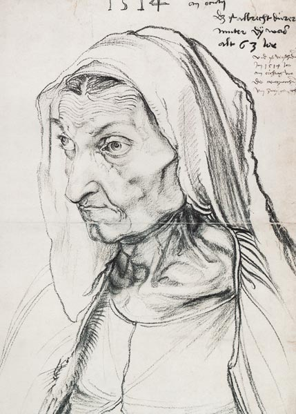 Albrecht Dürer - Portrait de sa mère