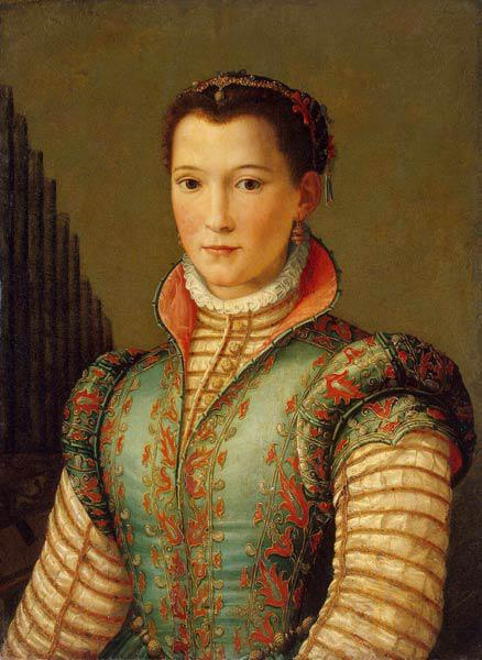 Portrait of Eleanor of Toledo (1522–1562), wife of Grand Duke Cosimo I de' Medici