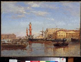View of St. Petersburg from the Neva