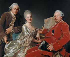 John Jennings Esq. and His Brother and Sister-in-Law