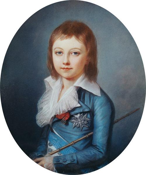 Medallion Portrait of Louis-Charles (178 - Alexandre Kucharski en  reproduction imprimée ou copie peinte à l'huile sur toile