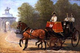 Returning from Her Majesty's Drawing Room, Hyde Park Corner