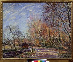 Sisley, Alfred : At the edge of the forest ...