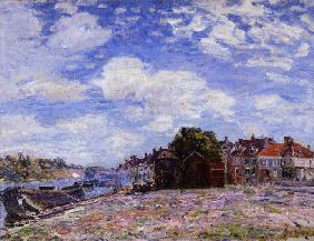 Sisley, Alfred : The Loing at Saint-Mamm�s