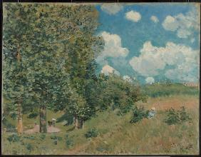 Sisley, Alfred : The Road from Versailles t...