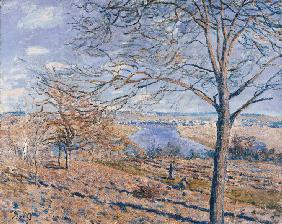 Sisley, Alfred : Banks of the Loing - Autum...