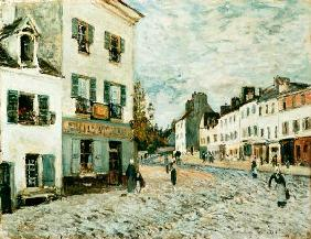 Sisley, Alfred : March� de Marly.