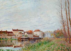 Sisley, Alfred : Sisley / Evening in Moret ...