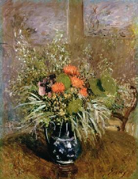 Sisley, Alfred : Still Life of Wild Flowers
