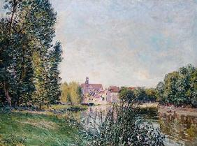 Sisley, Alfred : The Loing Canal and the Ch...