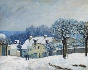 Sisley, Alfred : The Place du Chenil at Mar...
