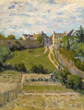 Sisley, Alfred : The Climbing Path