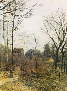 Sisley, Alfred : l'automne � Louveciennes