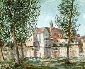 Sisley, Alfred : The Loing at Moret, Septem...