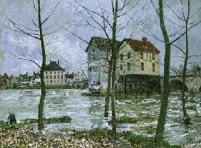 The Mills at Moret-sur-Loing, Winter