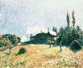 Sisley, Alfred : The Station at Sevres