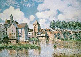 Sisley, Alfred : Moret-sur-Loing, the Porte...