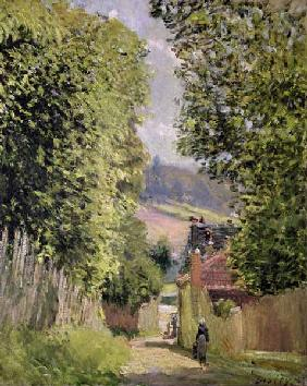 Sisley, Alfred : A Road in Louveciennes